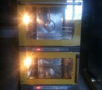 Продается кондитерский набор: печь+расстойка.  Конвекционная печь Unox XF 135,. Киев, Киевская область. фото 3