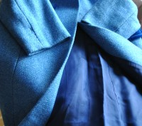 Продаю пальто, синего цвета. в отличном состоянии, практически не ношенное. Заме. Киев, Киевская область. фото 4