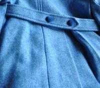 Продаю пальто, синего цвета. в отличном состоянии, практически не ношенное. Заме. Киев, Киевская область. фото 5