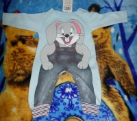 Продам новый детский костюм (человечек), производство Турции, на рост  74-80 см.. Запорожье, Запорожская область. фото 6