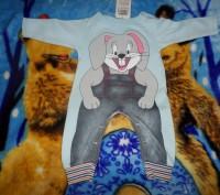 Продам новый детский костюм (человечек), производство Турции, на рост  74-80 см.. Запорожье, Запорожская область. фото 2