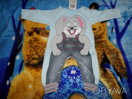 Продам новый детский костюм (человечек), производство Турции, на рост  74-80 см.. Запорожье, Запорожская область. фото 1