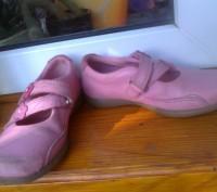 Фирменные туфельки на девочку 26 размер , длина стельки 17 см. Полностью кожаные. Чернігів, Чернігівська область. фото 5