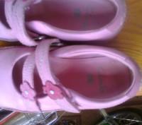 Фирменные туфельки на девочку 26 размер , длина стельки 17 см. Полностью кожаные. Чернігів, Чернігівська область. фото 2