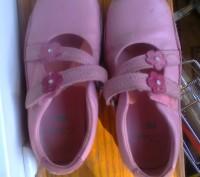Фирменные туфельки на девочку 26 размер , длина стельки 17 см. Полностью кожаные. Чернігів, Чернігівська область. фото 3