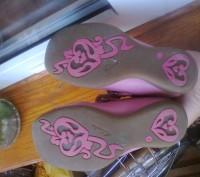Фирменные туфельки на девочку 26 размер , длина стельки 17 см. Полностью кожаные. Чернігів, Чернігівська область. фото 7