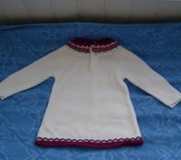 Продам платье вязанное Gloria Jeans (Китай) на 12 - 18 месяцев (86 р.). Спереди . Киев, Киевская область. фото 3