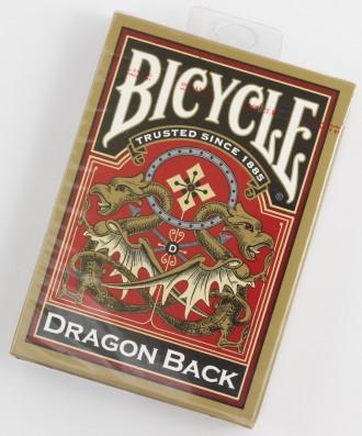 Карты игральные Bicycle Dragon Back (Gold). Днепр. фото 1