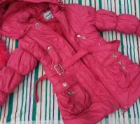 Куртка теплая осень-зима ,мех на капюшоне отстегивается ,не промокает,наполнение. Киев, Киевская область. фото 3