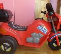 Продам детский мотоцикл на аккамуляторе, состояние нового Покупался для девочки. Днепр, Днепропетровская область. фото 2