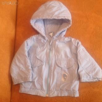 Демисезонная курточка, теплая. Длина курточки-35см.; ширина по спинке-30см.; . Запорожье, Запорожская область. фото 1
