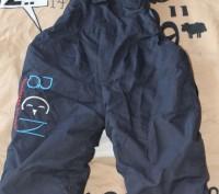 Штаны-Комбинезон на синтапоне,на шлейках,цвет-синий,на деток от 2 лет,длина шаго. Київ, Київська область. фото 3