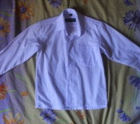 Рубашка белая на мальчика,новая,размер 28/29,длина рукава-36,5 см.,Длина от воро. Киев, Киевская область. фото 2