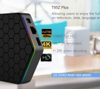 Smart tv box Sunvell T95Z Plus Android 6.0 смарт тв приставка S912 4K цена купит. Киев. фото 1