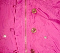 Курточка на девочку ТМ DKNY на резинке с капюшоном.  Возраст - 4 Сезон: весна. Киев, Киевская область. фото 5