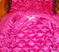 Курточка на девочку ТМ DKNY на резинке с капюшоном.  Возраст - 4 Сезон: весна. Киев, Киевская область. фото 4
