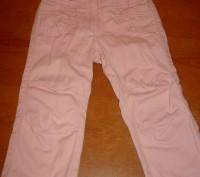 Штаны розовые для девочки регулируются резинками  Длина – 48 см Длина по внут. Киев, Киевская область. фото 2
