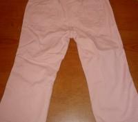 Штаны розовые для девочки регулируются резинками  Длина – 48 см Длина по внут. Киев, Киевская область. фото 3