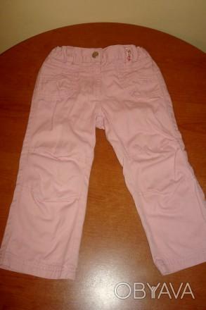 Штаны розовые для девочки регулируются резинками  Длина – 48 см Длина по внут. Киев, Киевская область. фото 1