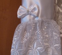 Платье детское, нарядное, можно на Новый год в садик. Длина по спинке 67см, длин. Киев, Киевская область. фото 5
