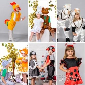 Детские карнавальные костюмы только новые от 170грн(гномики)от 195грн(овощи,фрук. Дніпро, Дніпропетровська область. фото 1