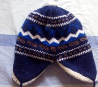 Теплая зимняя шапка на холодную зиму для мальчика 3-5 лет. Очень мягкая, не колю. Запоріжжя, Запорізька область. фото 3