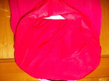 Платье детское бардовое на 8-10 лет подюбник,на молнии от пояса,общая длинна 64с. Полтава, Полтавская область. фото 10