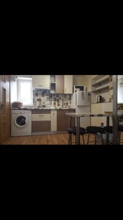 1 комнатная квартира,кухня-студия,мебель,спутниковое телевидение,кондиционер,инт. Одесса, Одесская область. фото 4