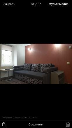 1 комнатная квартира,кухня-студия,мебель,спутниковое телевидение,кондиционер,инт. Одесса, Одесская область. фото 3
