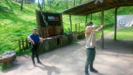 Стрельба из лука - вид спорта, благодаря которому можно не только хорошо провес. Чернигов, Черниговская область. фото 5