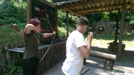 Стрельба из лука - вид спорта, благодаря которому можно не только хорошо провес. Чернигов, Черниговская область. фото 3