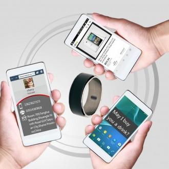 NFC Умное кольцо  NTAG213 +  объектив с триногой  для съемки с телефона в подаро. Киев. фото 1