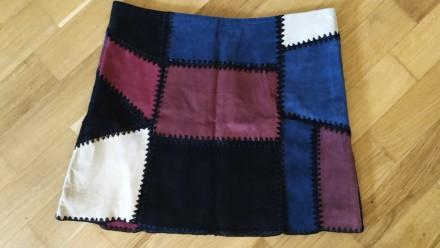 Шикарная замшевая юбка известного бренда ZARA. Киев. фото 1