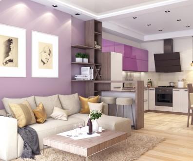 Студия дизайна интерьера Kleverc предлагает услуги по дизайну интерьера квартир,. Черкассы, Черкасская область. фото 3