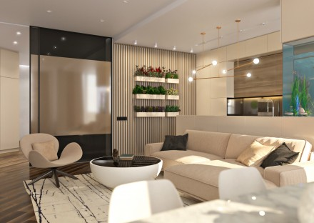 Студия дизайна интерьера Kleverc предлагает услуги по дизайну интерьера квартир,. Черкассы, Черкасская область. фото 2