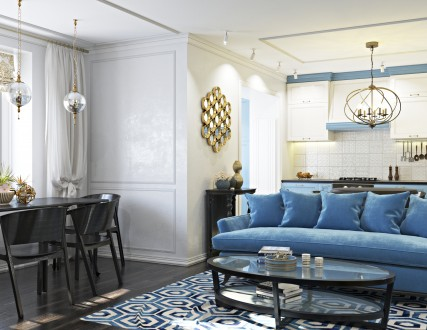 Студия дизайна интерьера Kleverc предлагает услуги по дизайну интерьера квартир,. Черкассы, Черкасская область. фото 7