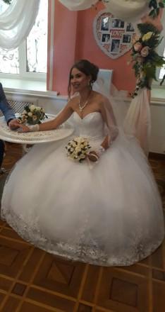 Продам свадебное платье. Николаев. фото 1
