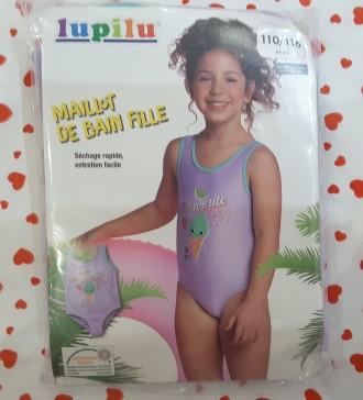 Супер купальник для девочки lupilu, 110/116, германия 4-6 лет. Полтава. фото 1