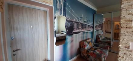 Сдам  свою 1-но комнатную квартиру   в новом ЖК «Альтаир», 13/23 этаж (Люстдорфс. Одесса, Одесская область. фото 10