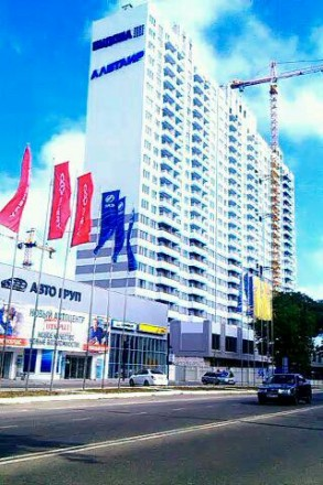 Сдам  свою 1-но комнатную квартиру   в новом ЖК «Альтаир», 13/23 этаж (Люстдорфс. Одесса, Одесская область. фото 5