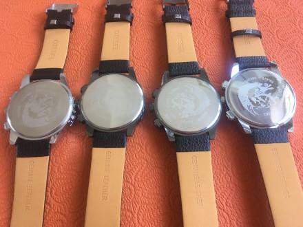 Новые мужские часы, ремешок черный кожзам. Акция! Цена снижена с 280 до 170 грн.. Запорожье, Запорожская область. фото 5