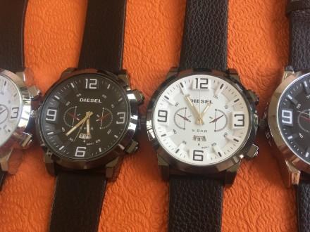 Новые мужские часы, ремешок черный кожзам. Акция! Цена снижена с 280 до 170 грн.. Запорожье, Запорожская область. фото 4