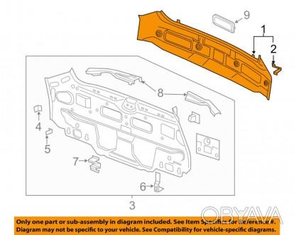 Задняя панель кузова Chevrolet Volt 11-15 20918132. Тернополь, Тернопольская область. фото 1