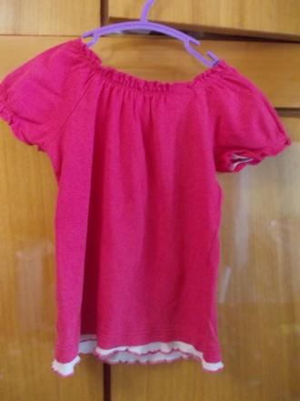 футболка детская на 4-6 лет 100% хлопок ,состояние отличное,плечи-27,длинна-38 с. Полтава, Полтавская область. фото 5