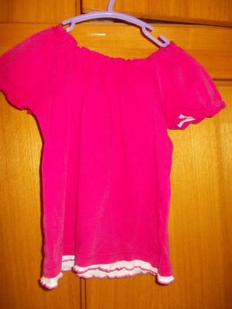 футболка детская на 4-6 лет 100% хлопок ,состояние отличное,плечи-27,длинна-38 с. Полтава, Полтавская область. фото 4