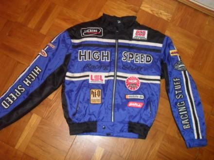 Лёгкая Мото-куртка POLO ( High Speed ) , размер S-М ( 48-50 ). Киев. фото 1