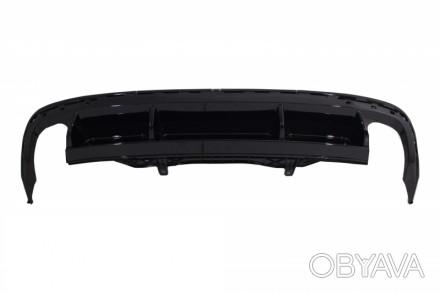 Цена = 200 $ VW Passat CC диффузор R-line   Диффузор заднего бампера под тип . Нежин, Черниговская область. фото 1