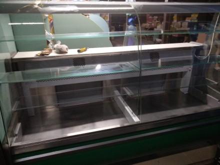 Продам холодильну вітрину довжиною 2 м, в експлуатації 2 роки, в гарному стані.. Киев, Киевская область. фото 5