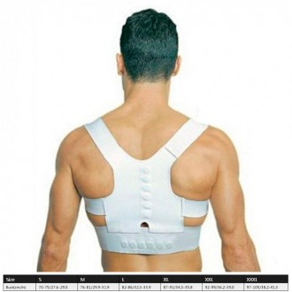 Магнитный корректор осанки избавит от болей в спине, от сутулости, восстанавлива. Одесса, Одесская область. фото 9