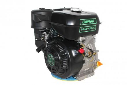 Двигатель бензиновый GrunWelt GW460F-S (18 л.с., шпонка) Grunwelt GW 460F-S - мо. Киев, Киевская область. фото 6